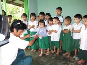 Elementary School in Thanlyin, Burma (Myanmar)